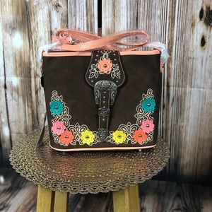 Montana West Buckle Collection Crossbody